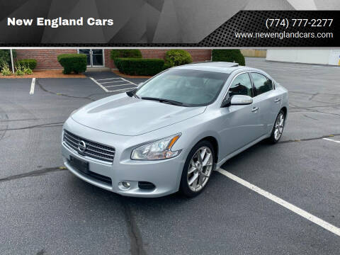 2010 Nissan Maxima for sale at New England Cars in Attleboro MA