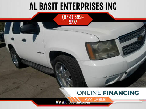 2007 Chevrolet Tahoe for sale at AL BASIT ENTERPRISES INC in Riverside CA