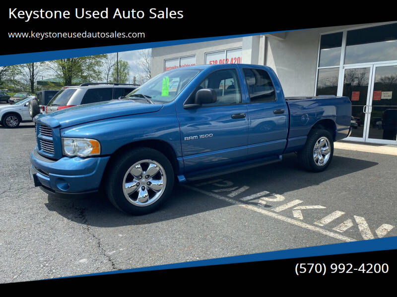 2003 Dodge Ram Pickup 1500 for sale at Keystone Used Auto Sales in Brodheadsville PA