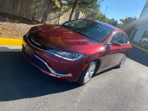 2015 Chrysler 200 for sale at Super Bee Auto in Chantilly VA