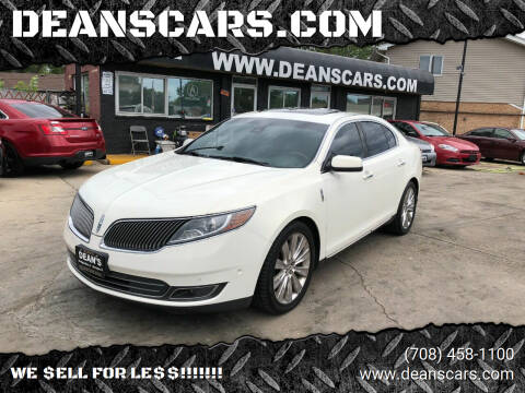 2013 Lincoln MKS for sale at DEANSCARS.COM in Bridgeview IL