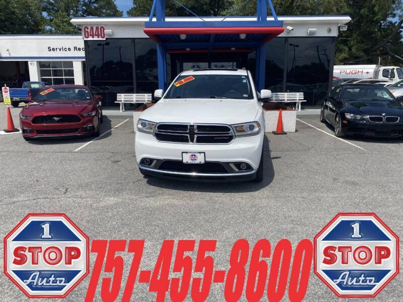 2014 Dodge Durango for sale at 1 Stop Auto in Norfolk VA