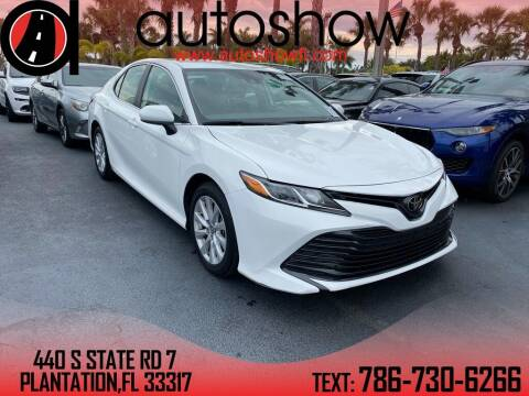 2020 Toyota Camry for sale at AUTOSHOW SALES & SERVICE in Plantation FL