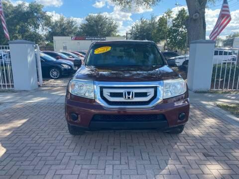 2011 Honda Pilot for sale at JEISY AUTO SALES in Orlando FL