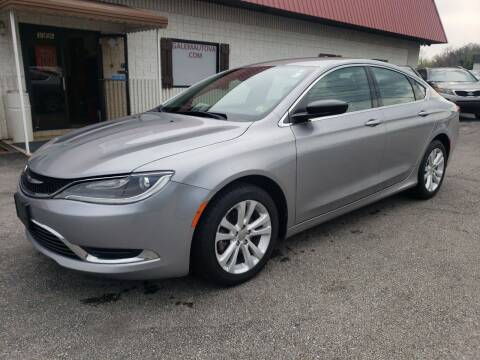 2016 Chrysler 200 for sale at Salem Auto Sales in Salem VA