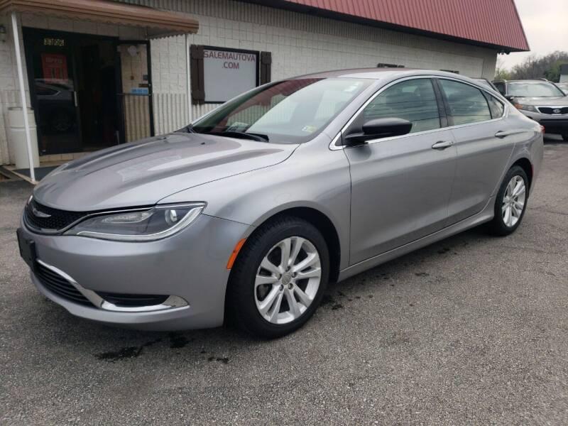 2016 Chrysler 200 for sale at Salem Auto Sales in Salem VA