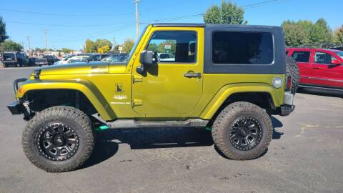 2007 Jeep Wrangler for sale at Silverline Auto Boise in Meridian ID