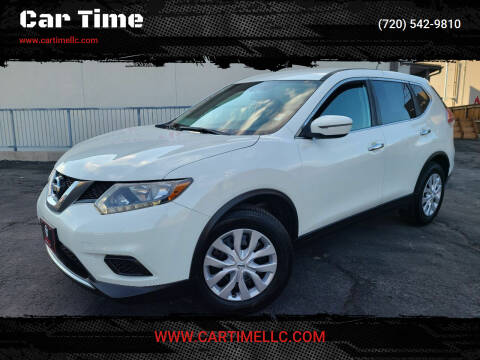 2016 Nissan Rogue for sale at Car Time in Denver CO