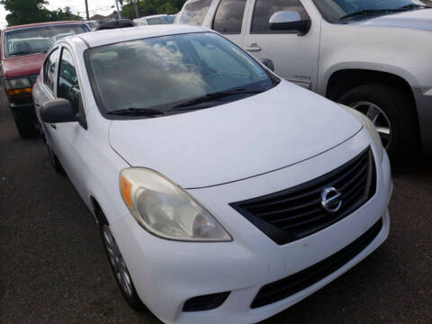 2012 Nissan Versa for sale at CHEAPIE AUTO SALES INC in Metairie LA