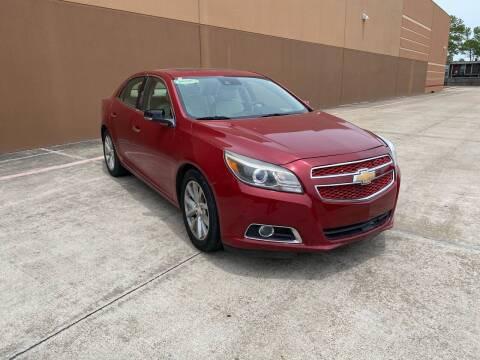 2013 Chevrolet Malibu for sale at ALL STAR MOTORS INC in Houston TX
