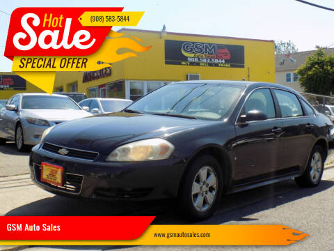 2009 Chevrolet Impala for sale at GSM Auto Sales in Linden NJ