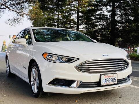 2018 Ford Fusion Hybrid for sale at Brand Motors llc in Belmont CA