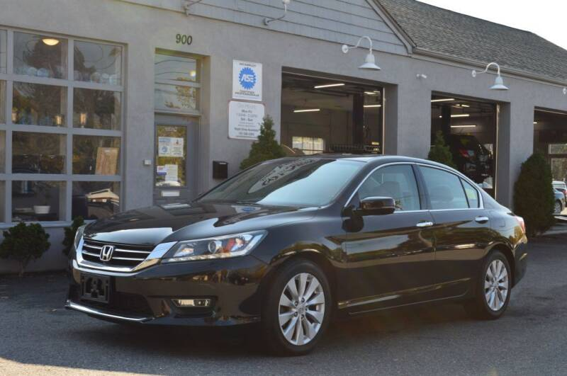 2013 Honda Accord for sale at LARIN AUTO in Norwood MA