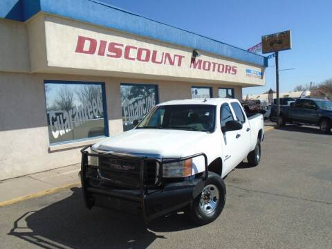2009 GMC Sierra 2500HD for sale at Discount Motors in Pueblo CO