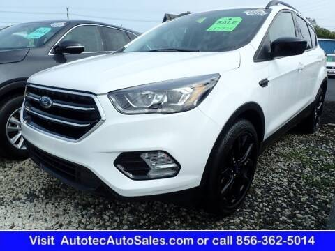 2019 Ford Escape for sale at Autotec Auto Sales in Vineland NJ