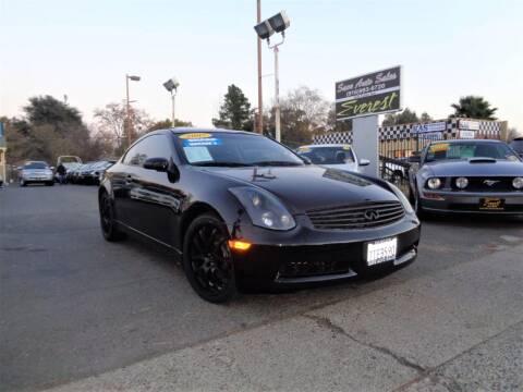 2007 Infiniti G35 for sale at Save Auto Sales in Sacramento CA
