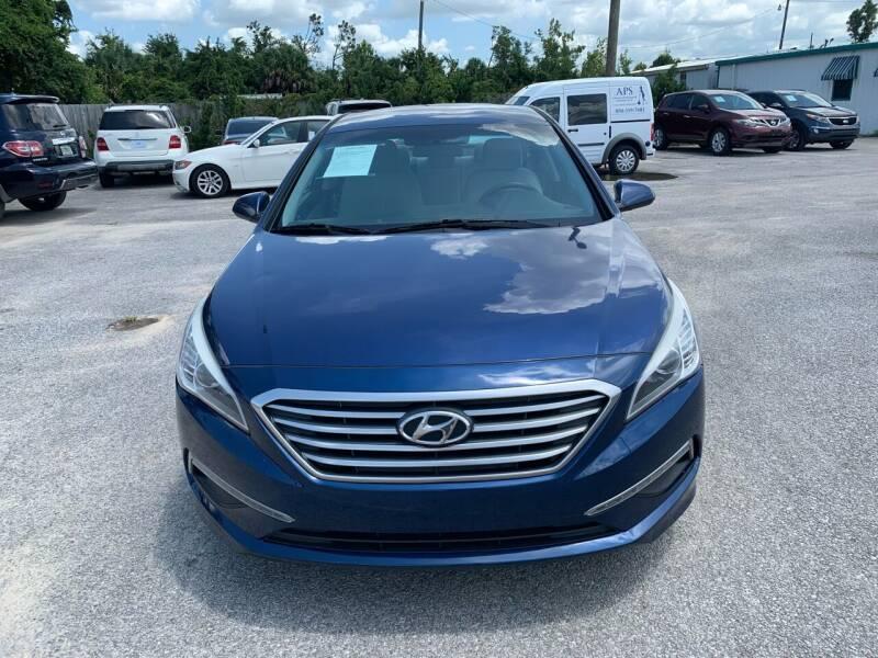 2015 Hyundai Sonata for sale at Jamrock Auto Sales of Panama City in Panama City FL