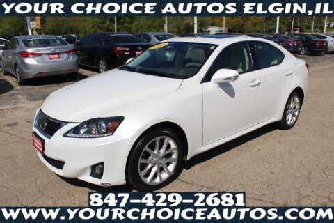 2012 Lexus IS 350 for sale at Your Choice Autos - Elgin in Elgin IL