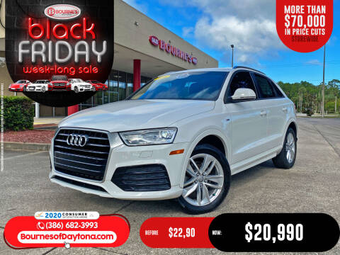 2018 Audi Q3 for sale at Bourne's Auto Center in Daytona Beach FL