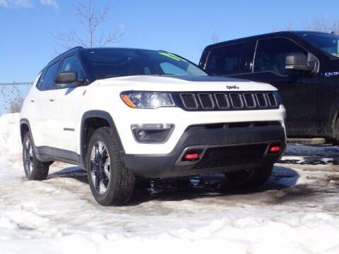 2017 Jeep Compass for sale at Szott Ford in Holly MI