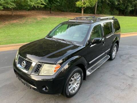 2011 Nissan Pathfinder for sale at Top Notch Luxury Motors in Decatur GA
