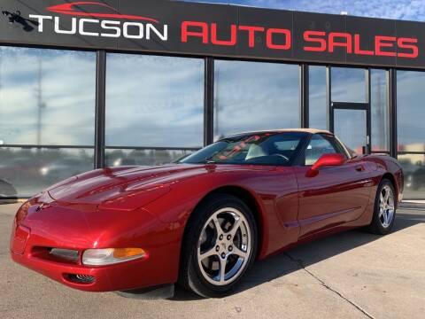 2004 Chevrolet Corvette for sale at Tucson Auto Sales in Tucson AZ