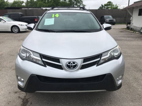 2014 Toyota RAV4 for sale at SOUTHWAY MOTORS in Houston TX