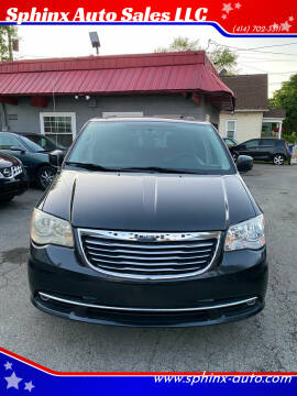 2013 Chrysler Town and Country for sale at Sphinx Auto Sales LLC in Milwaukee WI