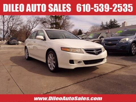2007 Acura TSX for sale at Dileo Auto Sales in Norristown PA