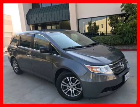 2011 Honda Odyssey for sale at Cruise Autos in Corona CA