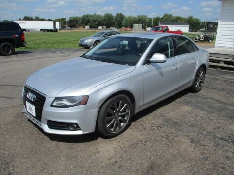 2009 Audi A4 for sale at KAISER AUTO SALES in Spencer WI