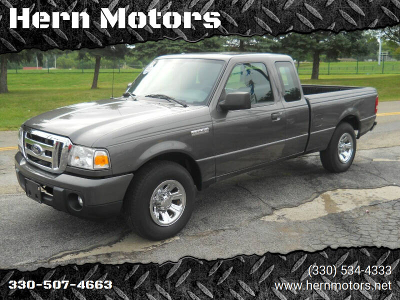 2010 Ford Ranger for sale at Hern Motors - 111 Hubbard Youngstown Rd Lot in Hubbard OH