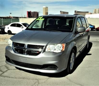 2014 Dodge Grand Caravan for sale at DESERT AUTO TRADER in Las Vegas NV