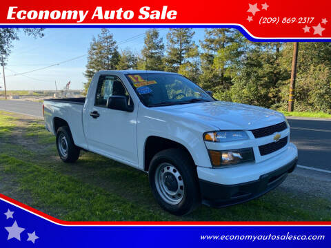 2012 Chevrolet Colorado for sale at Economy Auto Sale in Modesto CA