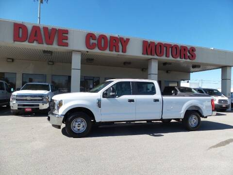 2019 Ford F-250 Super Duty for sale at DAVE CORY MOTORS in Houston TX