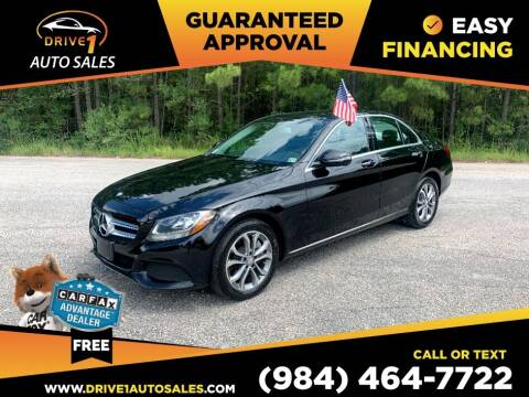 2017 Mercedes-Benz C-Class for sale at Drive 1 Auto Sales in Wake Forest NC