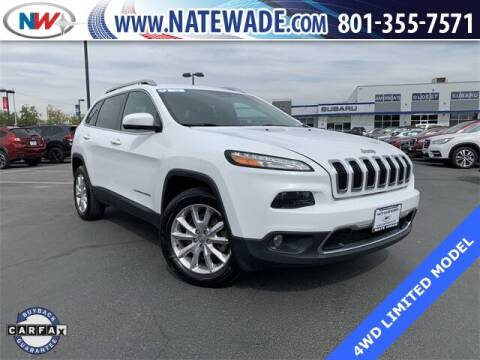 2016 Jeep Cherokee for sale at NATE WADE SUBARU in Salt Lake City UT