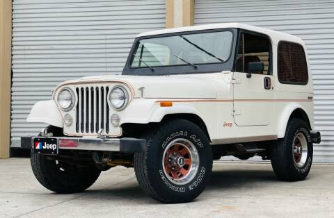 1982 Jeep CJ-7 for sale at PennSpeed in New Smyrna Beach FL