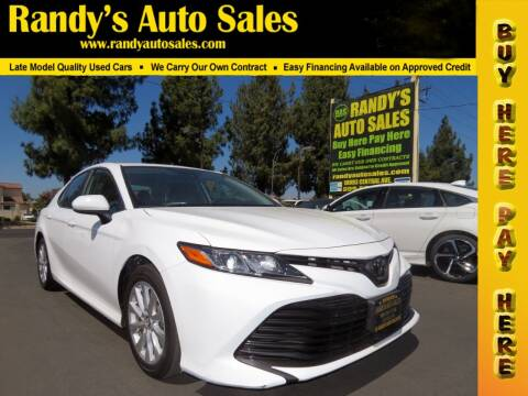 2019 Toyota Camry for sale at Randy's Auto Sales in Ontario CA