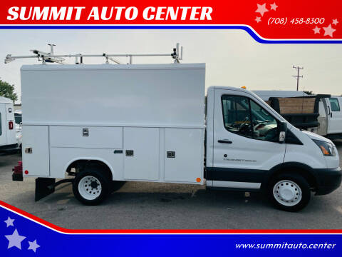 2016 Ford Transit Chassis Cab for sale at SUMMIT AUTO CENTER in Summit IL