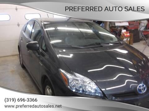 2010 Toyota Prius for sale at PREFERRED AUTO SALES in Lockridge IA