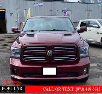 2016 RAM Ram Pickup 1500 for sale at Popular Auto Mall Inc in Newark NJ