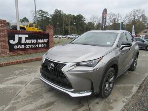 2017 Lexus NX 200t for sale at J T Auto Group in Sanford NC