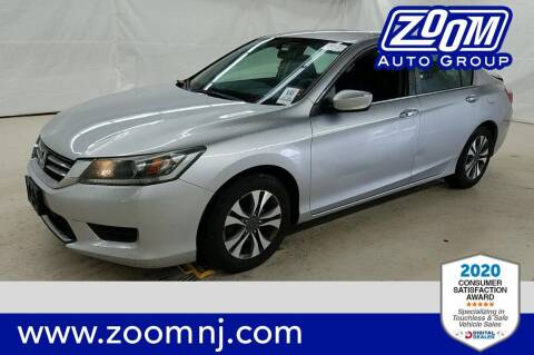 2013 Honda Accord for sale at Zoom Auto Group in Parsippany NJ