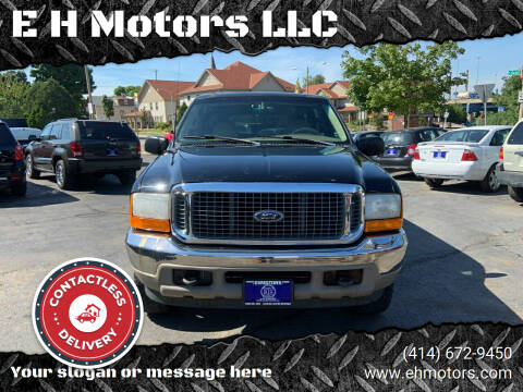 2000 Ford Excursion for sale at E H Motors LLC in Milwaukee WI