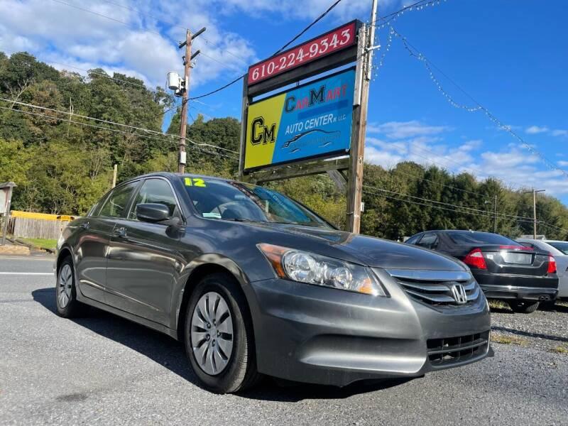 2012 Honda Accord for sale at Walnutport Carmart in Walnutport PA