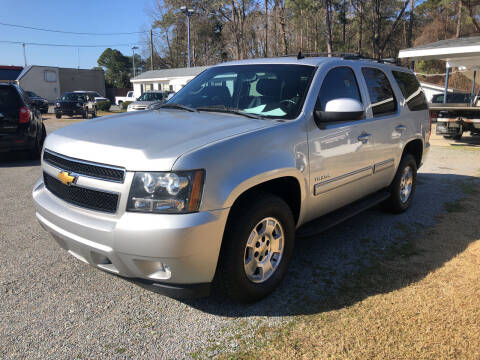 2011 Chevrolet Tahoe for sale at Robert Sutton Motors in Goldsboro NC