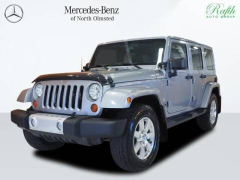 2013 Jeep Wrangler Unlimited for sale at Mercedes-Benz of North Olmsted in North Olmstead OH