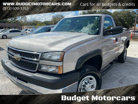 2005 Chevrolet Silverado 2500HD for sale at Budget Motorcars in Tampa FL