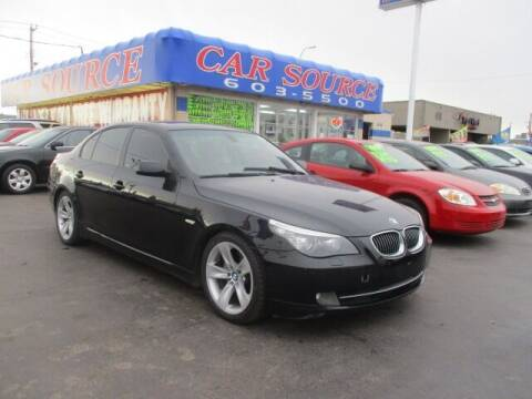 2009 BMW 5 Series for sale at CAR SOURCE OKC in Oklahoma City OK
